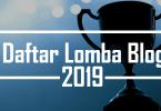 Daftar lomba blog juni 2019