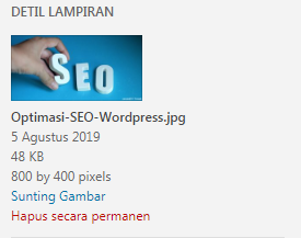 Optimasi SEO WordPress Gambar