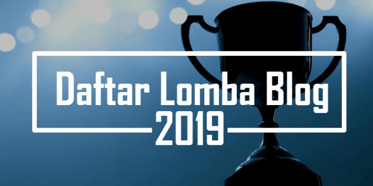Daftar Lomba Blog Oktober 2019
