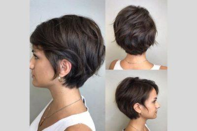 rambut layer pendek